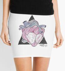 Anatomy heart Mini Skirt
