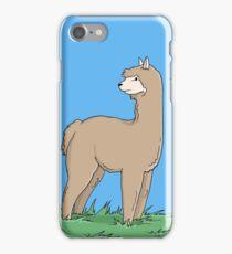 Brown Alpaca iPhone Case/Skin
