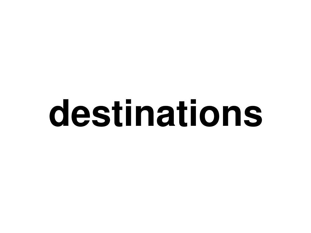 destinations by ninov94