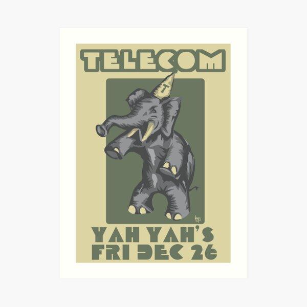 Telecom at Yah Yah's Boxing Day 2008 Art Print