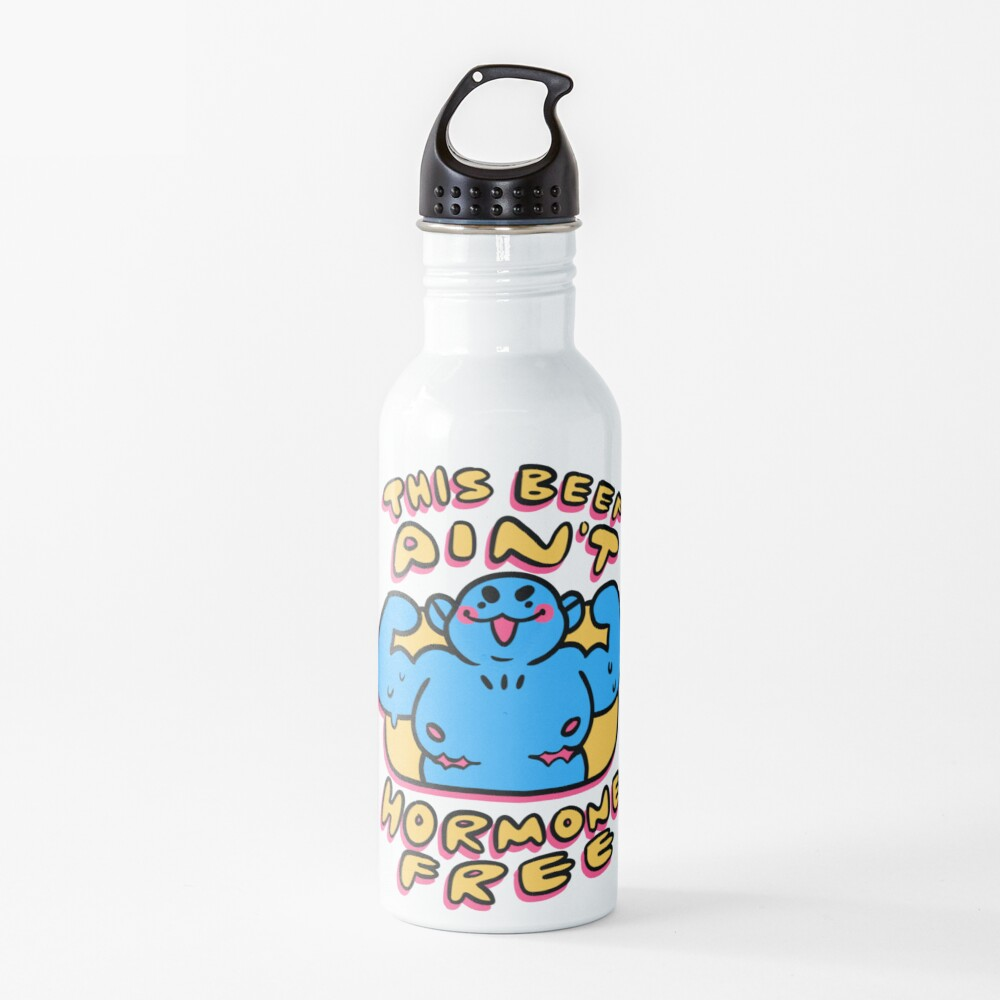 This Beef Aint Hormone Free - Top Surgery Scars Water Bottle