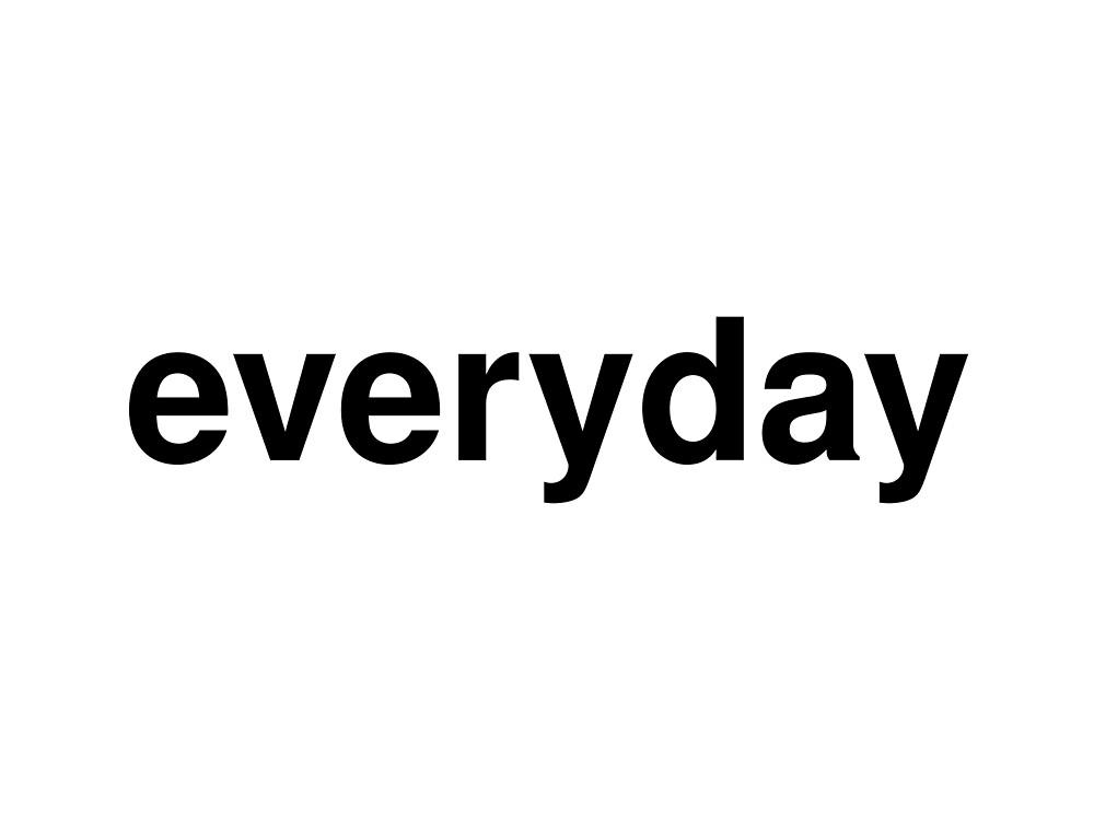 everyday by ninov94