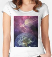 Heaven Sent Women's Fitted Scoop T-Shirt