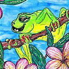 Fergus the Frog by kewzoo