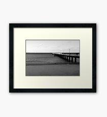 Baltic Sea - Bridge Framed Print