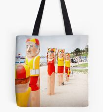 Bollard Series 2 - Eastern Beach Geelong Tote Bag