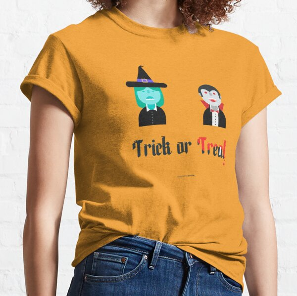 Trick or treat!! Camiseta clásica