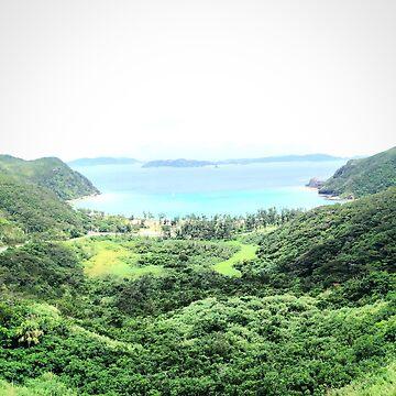 Okinawan Beach by romiyrerruchigu