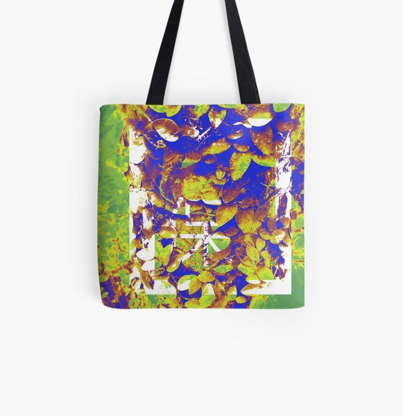 Good Luck Leaves All Over Print Tote Bag
