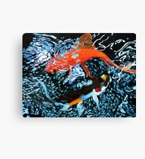 Serenity in the Water Canvas Print
