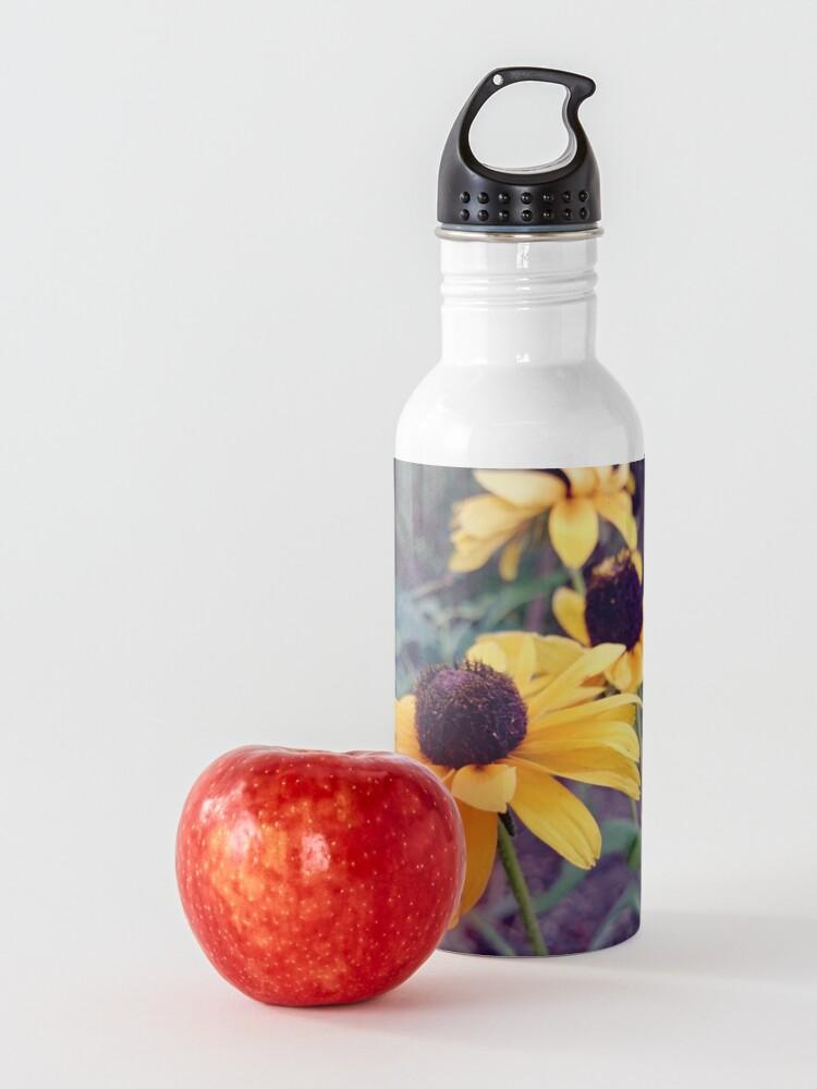 Alternative Ansicht von Gelber Sonnenhut Trinkflasche