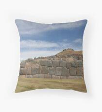 Saqsaywaman, Cuzco, Peru, South America Throw Pillow