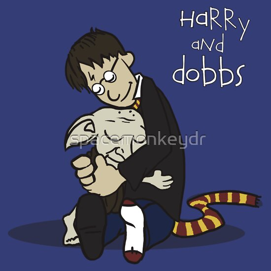 TShirtGifter presents: Harry and Dobbs- Harry Potter