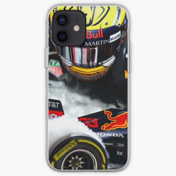 Max Verstappen F1 2019 iPhone Soft Case