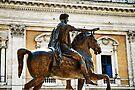 Statue of Marcus Aurelius, Rome, Italy by David Carton