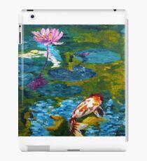 Tranquil Koi Lily Pond iPad Case/Skin