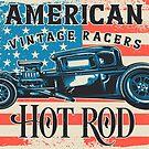 American Vintage Racers Hot Rod Design by hurmerinta