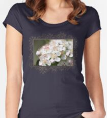 Aronia Blossoms Women's Fitted Scoop T-Shirt