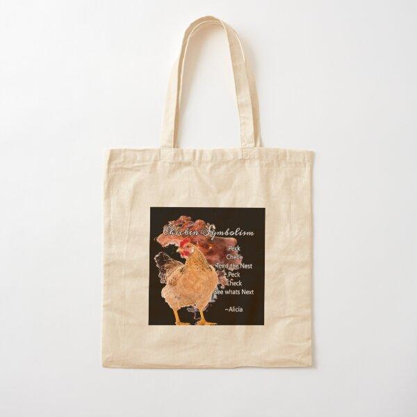 chicken Symbolism Totem Guide Cotton Tote Bag