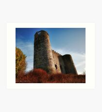 Unknown Castle, County Clare, Ireland Art Print
