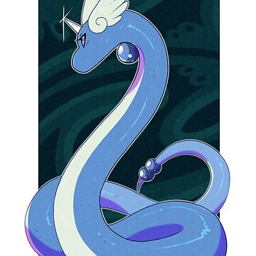 A pretty dragon by Henzypoo
