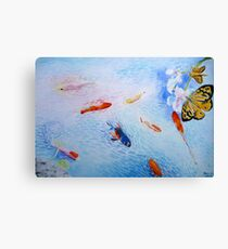 Tranquility in Familiar Numbers Canvas Print