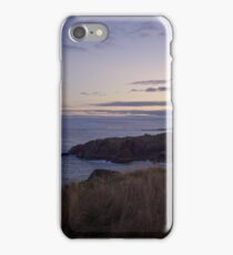 Sunset on Cruden Bay - North East coast of Aberdeenshire, Scotland iPhone Case/Skin