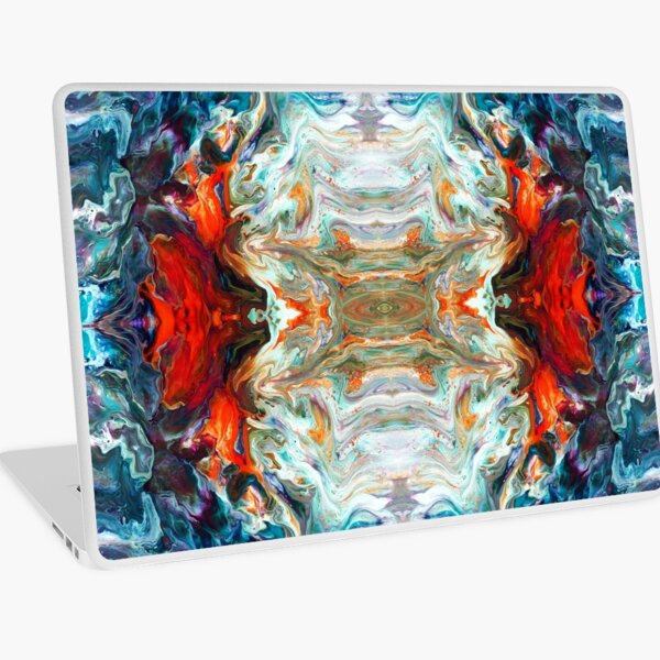 Fire And Water Laptop Skin