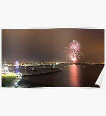 Geelong Audi Week Fireworks Poster
