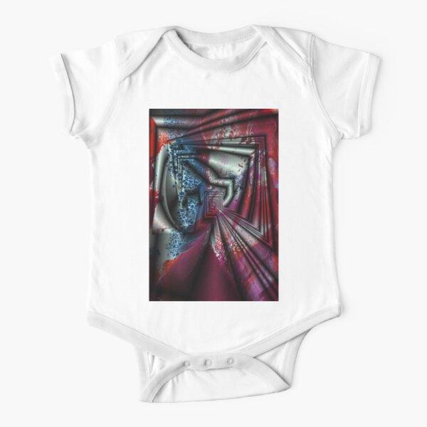 Folding Short Sleeve Baby One-Piece