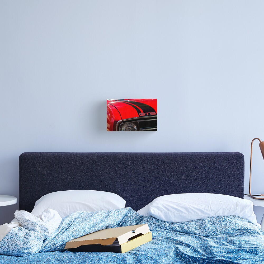Holden Monaro GTS coupe hood Canvas Print