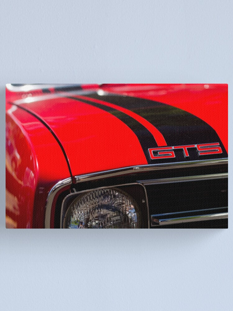 Alternate view of Holden Monaro GTS coupe hood Canvas Print