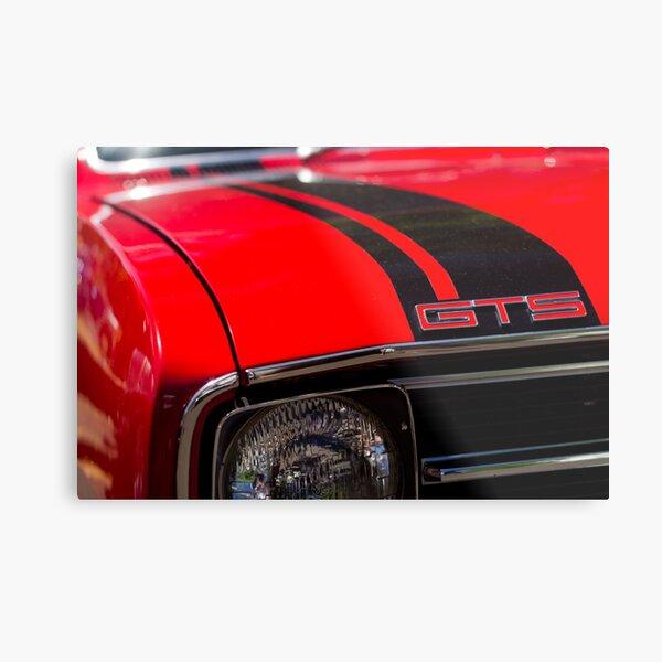 Holden Monaro GTS coupe hood Metal Print