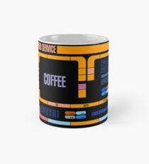 Captains Drink Coffee Classic Mug