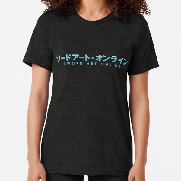 sword art online T-shirt chiné