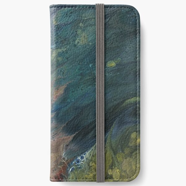 The River Dreams of Spring iPhone Wallet