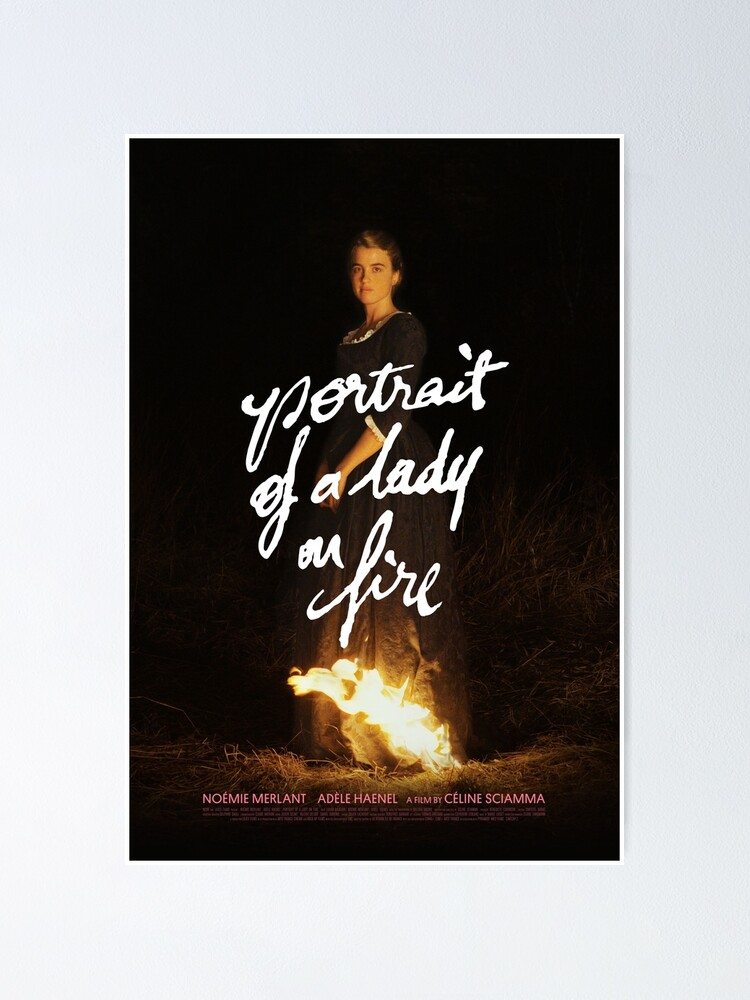 Alternate view of Portrait of a lady on fire Poster