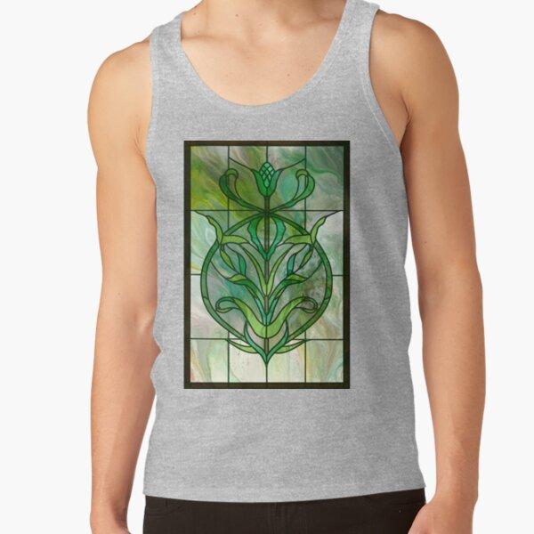 Glass Leaves II: fluid digital art Tank Top