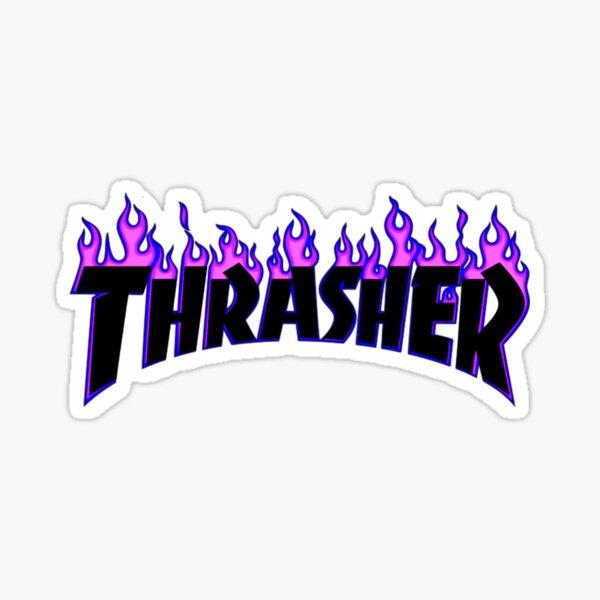 Trasher  Sticker