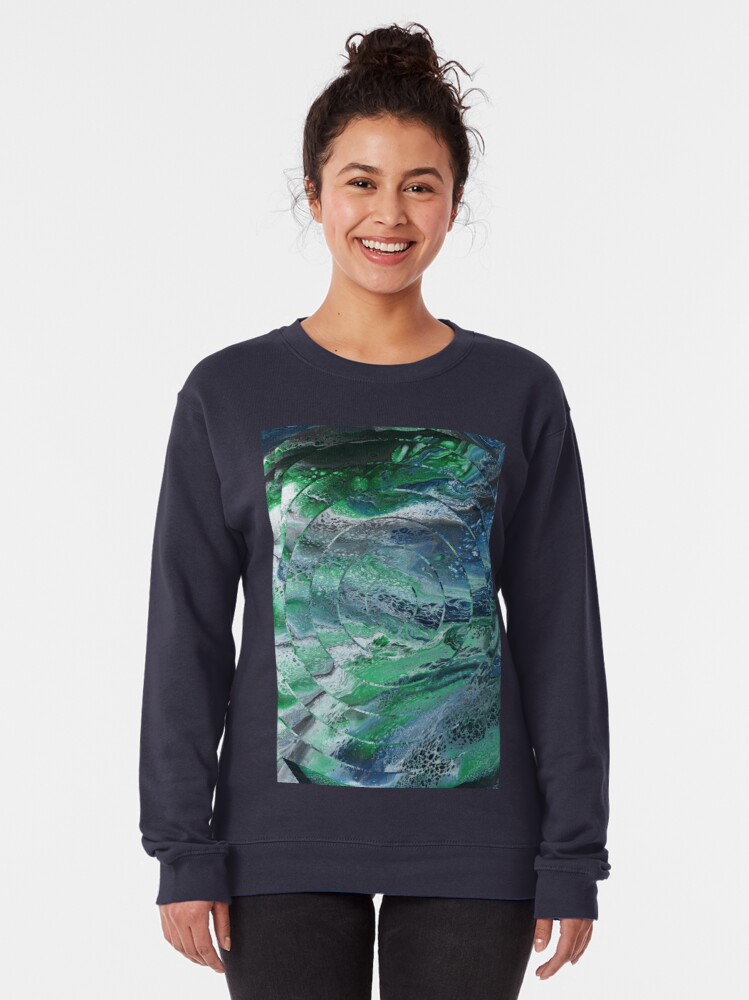 Alternate view of View From a Lighthouse Pullover Sweatshirt