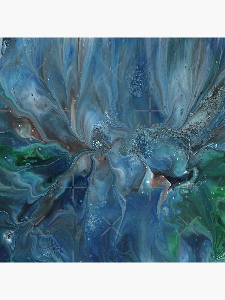 Crosscurrent: ocean river fluid art by kerravonsen