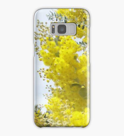 Wattle Flowers Samsung Galaxy Case/Skin