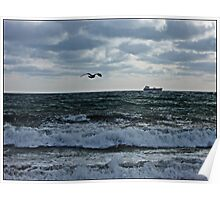 """"""" Darkness falls over Mounts Bay"""" Poster"""