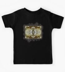 Cafe au Lait Abstract Kids Tee