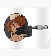 Chewbacca the pomeranian Poster