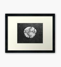 Tectonic Plates Framed Print