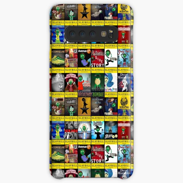 Broadway Zombie Theatre Programs Small Collage Samsung Galaxy Snap Case