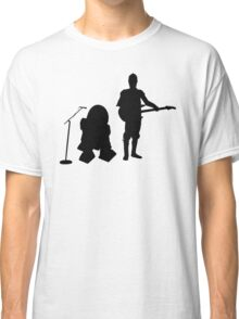 R2D2 C3PO Rock Band Classic T-Shirt