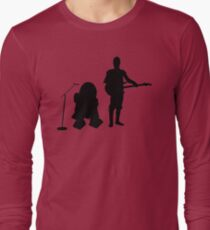 R2D2 C3PO Rock Band Long Sleeve T-Shirt