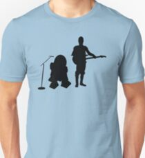 R2D2 C3PO Rock Band Unisex T-Shirt